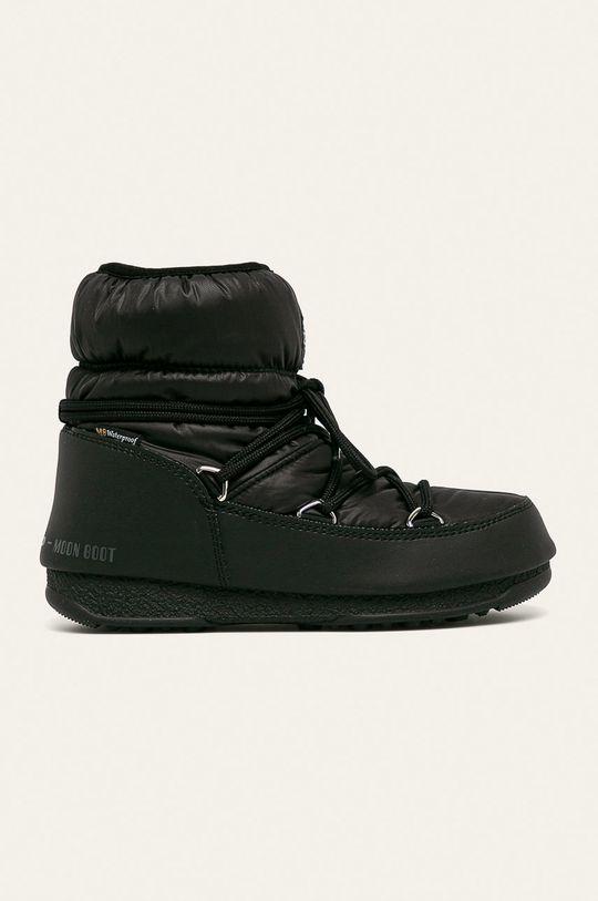 černá Moon Boot - Sněhule Low Nylon Wp 2 Dámský