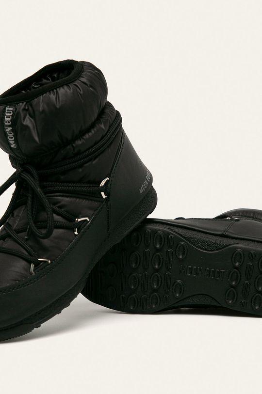 černá Moon Boot - Sněhule Low Nylon Wp 2