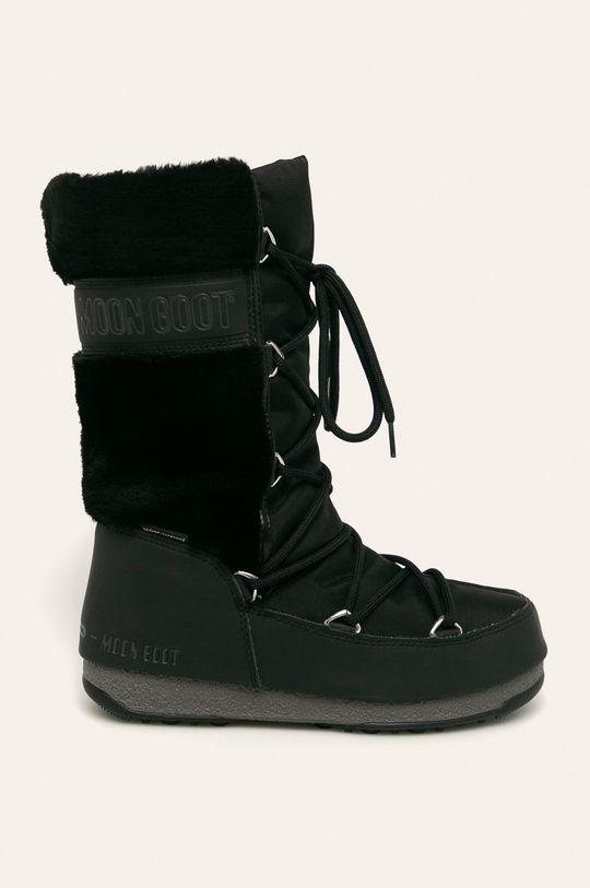 negru Moon Boot - Cizme de iarna Monaco Fur WP De femei