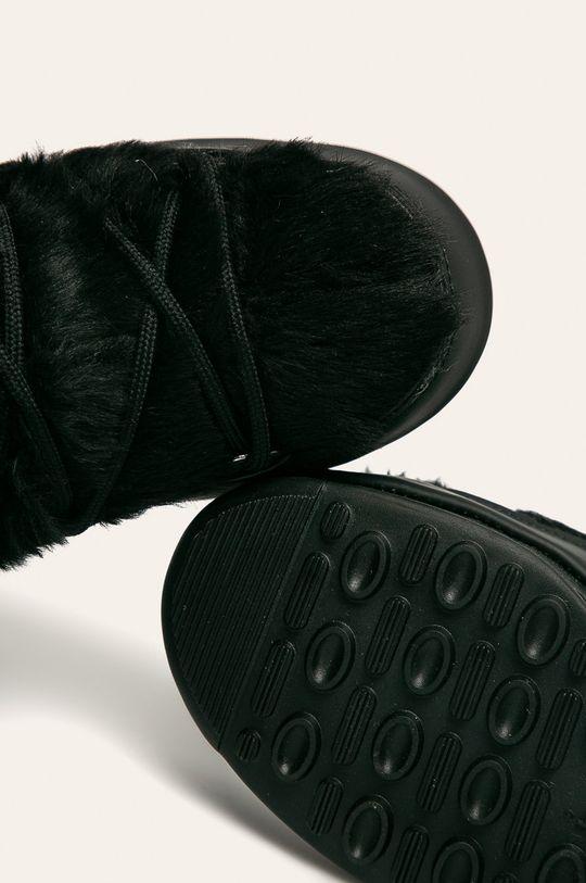 czarny Moon Boot - Śniegowce Monaco Low Fur Wp 2
