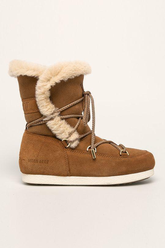 maro auriu Moon Boot - Cizme de iarna Moon Boot Far Side High Shear De femei