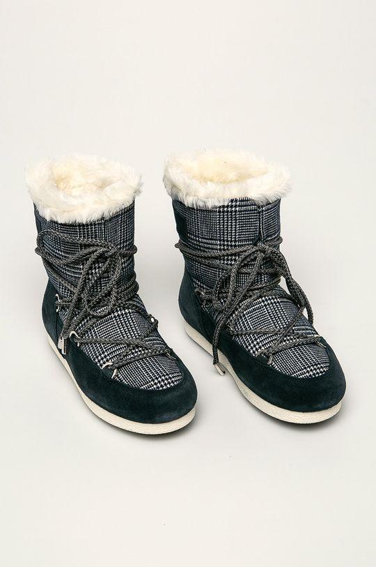 Moon Boot - Cizme de iarna bleumarin