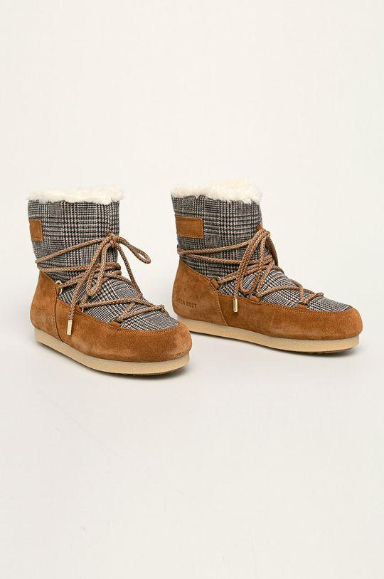 Moon Boot - Cizme de iarna maro auriu