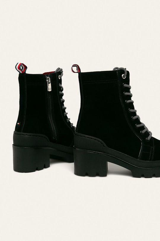 Tommy Hilfiger - Шкіряні черевики  Халяви: Синтетичний матеріал, Замша Внутрішня частина: Текстильний матеріал, Натуральна шкіра Підошва: Синтетичний матеріал