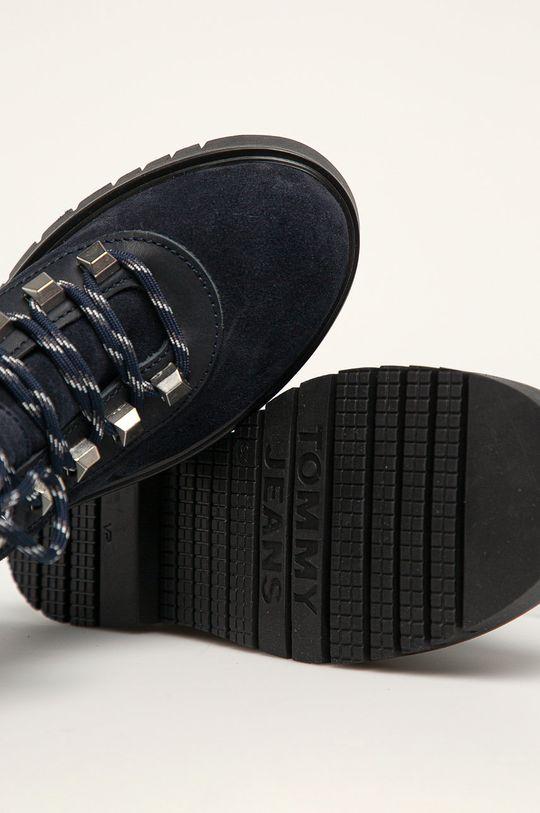 темно-синій Tommy Jeans - Черевики