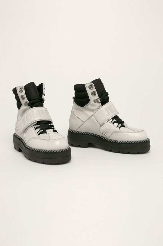 Tommy Jeans - Черевики сірий