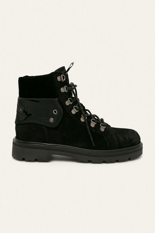 чорний Tommy Jeans - Черевики Жіночий