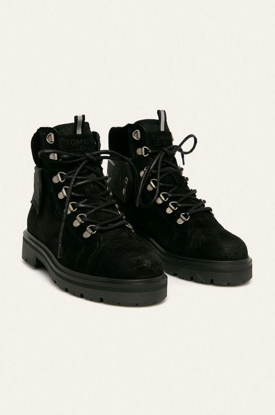 Tommy Jeans - Черевики чорний