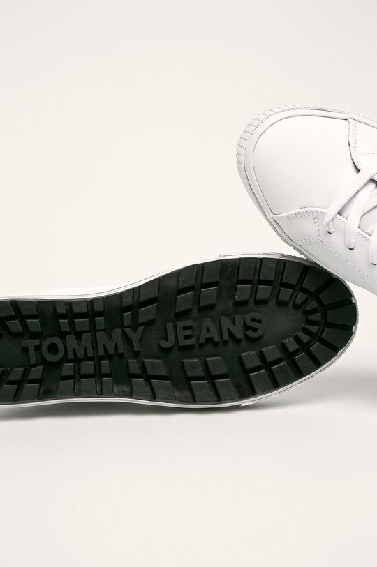 Tommy Jeans - Buty Cholewka: Materiał syntetyczny, Skóra naturalna, Wnętrze: Materiał tekstylny, Podeszwa: Materiał syntetyczny
