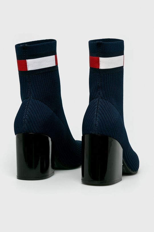 Tommy Jeans - Botki Cholewka: Materiał tekstylny, Wnętrze: Materiał tekstylny, Skóra naturalna, Podeszwa: Materiał syntetyczny
