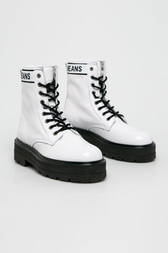 Tommy Jeans - Черевики білий