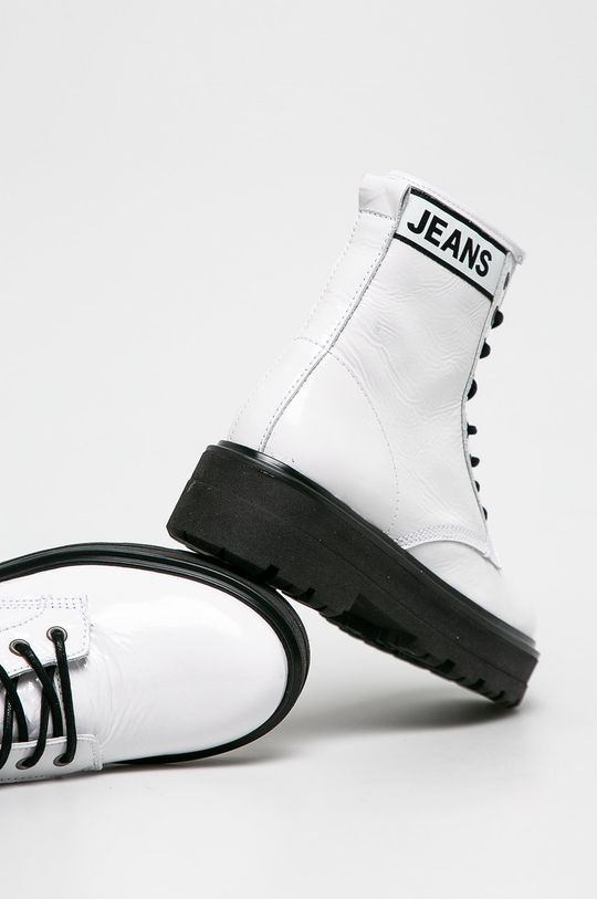 Tommy Jeans - Черевики  Халяви: Натуральна шкіра Внутрішня частина: Текстильний матеріал, Натуральна шкіра Підошва: Синтетичний матеріал