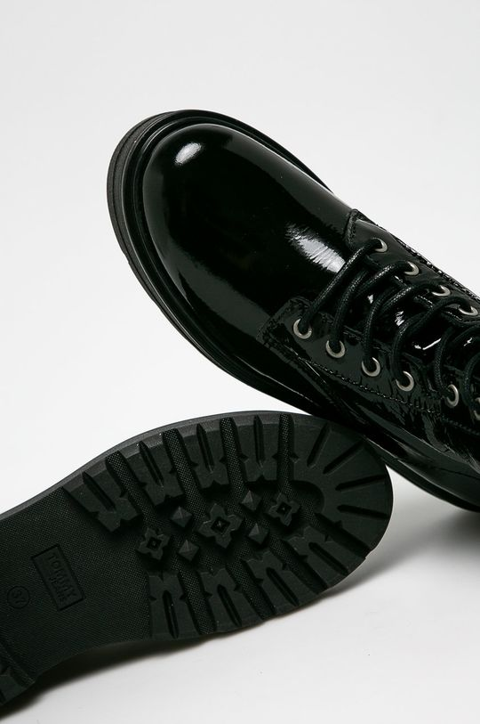 czarny Tommy Jeans - Botki