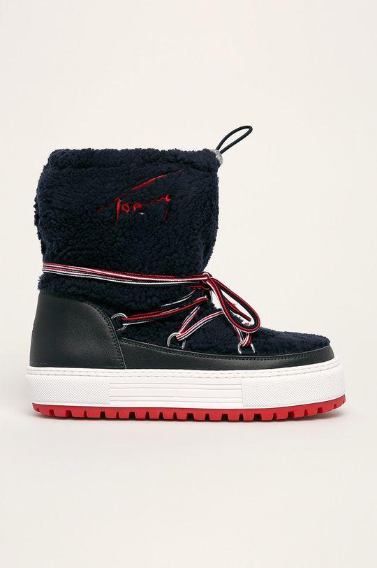 bleumarin Tommy Jeans - Cizme de iarna De femei