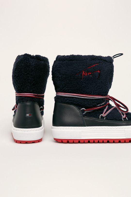 Tommy Jeans - Зимові чоботи  Халяви: Синтетичний матеріал, Текстильний матеріал Внутрішня частина: Текстильний матеріал Підошва: Синтетичний матеріал