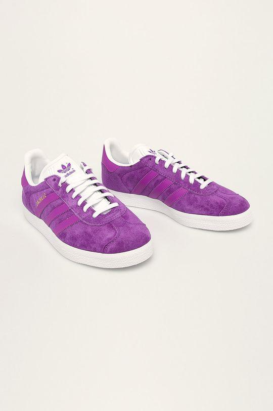 adidas Originals - Topánky Gazelle fialová
