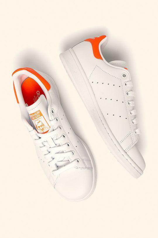 biela adidas Originals - Topánky EE5863