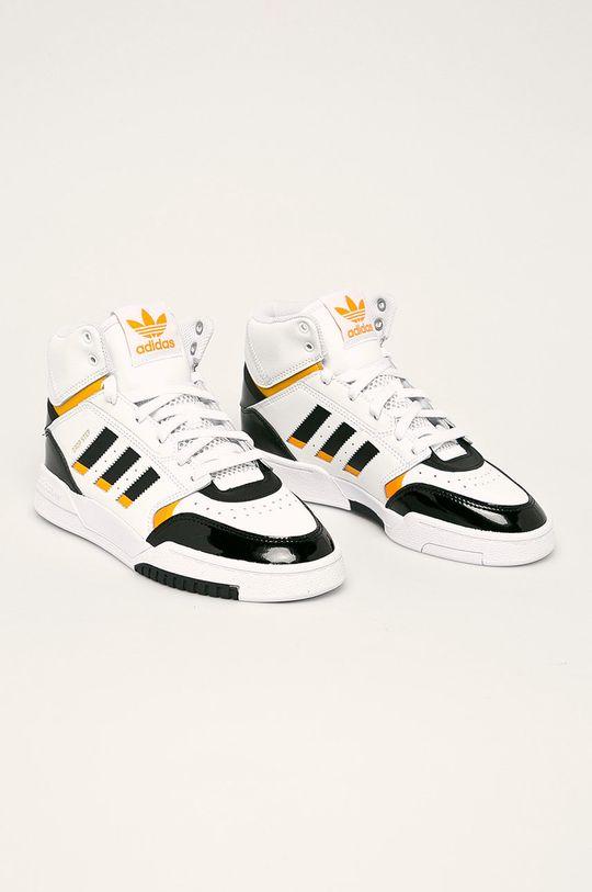 adidas Originals - Обувки Drop Step бял