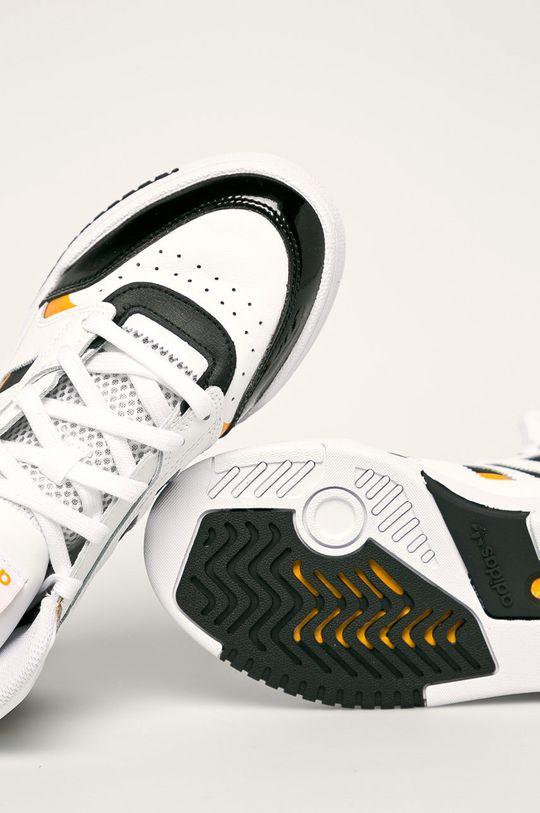 бял adidas Originals - Обувки Drop Step