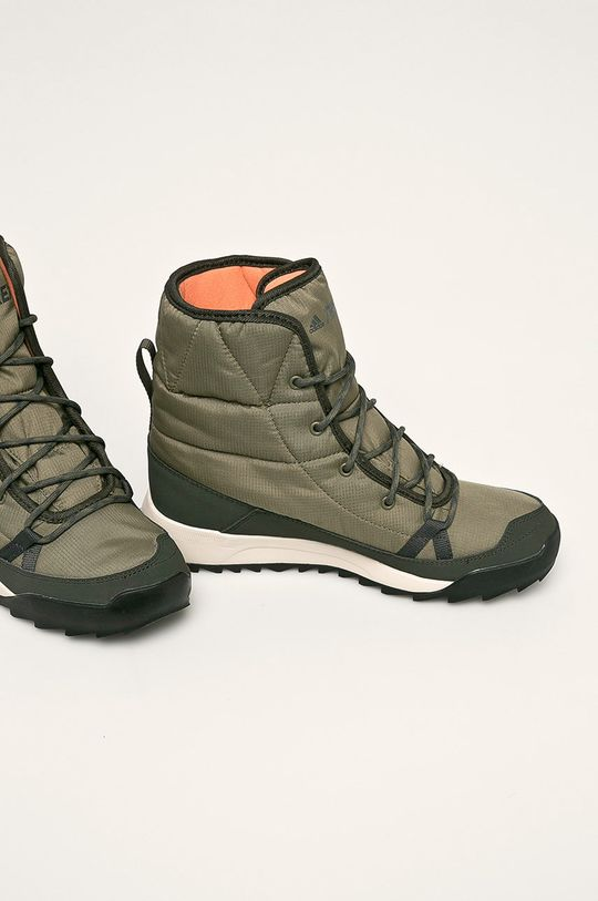 adidas Performance - Обувки Terrex Choleah Padded CP зелен