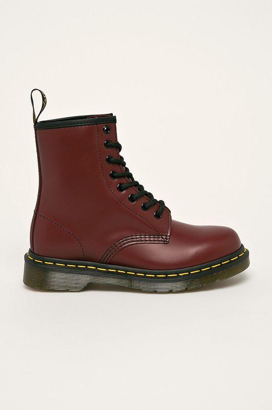 gaštanová Dr Martens - Členkové topánky Dámsky