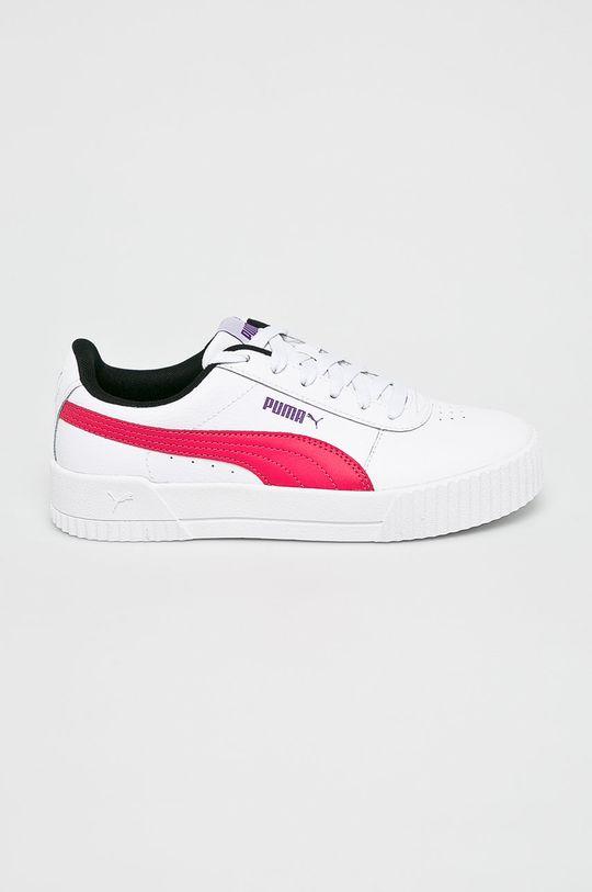 alb Puma - Pantofi Carina L De femei