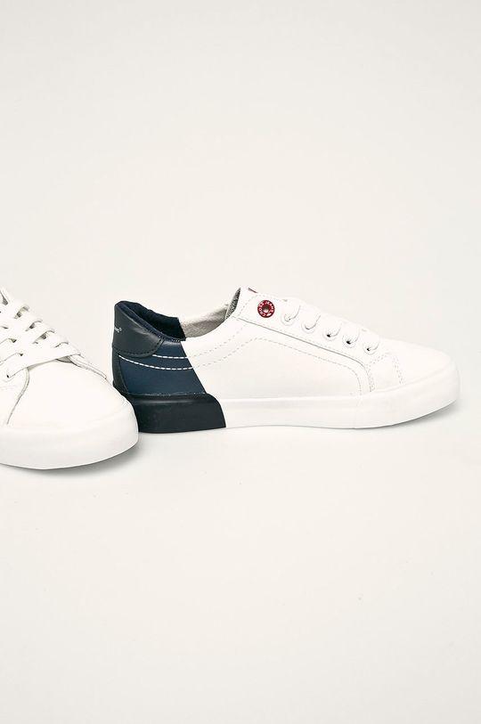 Cross Jeans - Tenisky biela