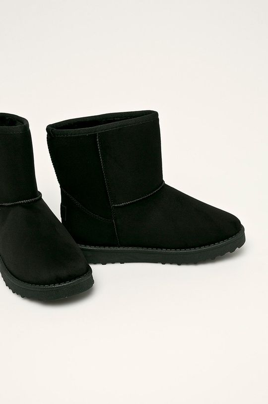 Cross Jeans - Cizme de iarna negru