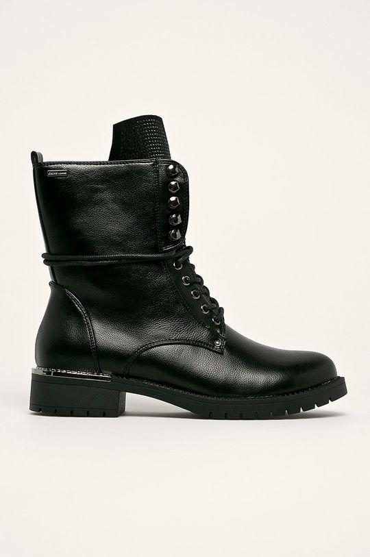 černá Cross Jeans - Nízké kozačky Dámský