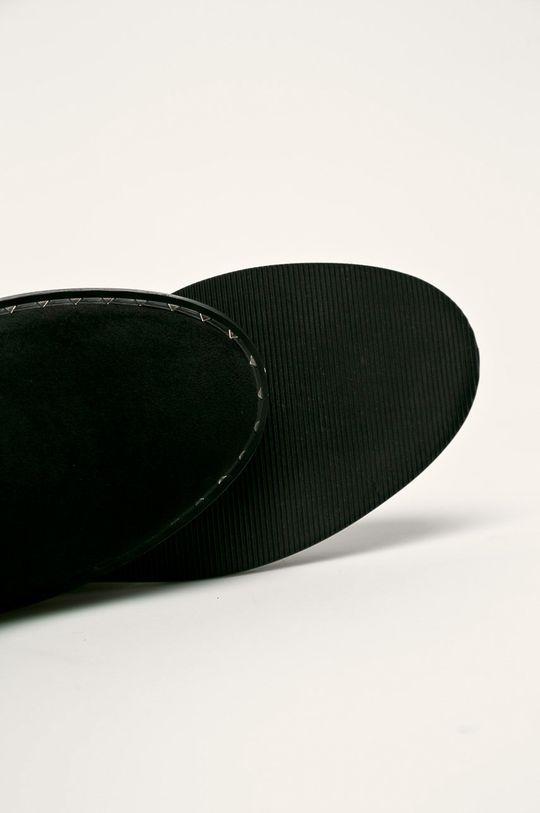černá Cross Jeans - Nízké kozačky