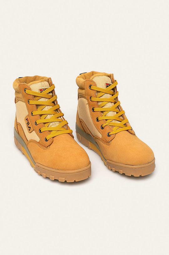 Fila - Pantofi Grunge II Mid de grau