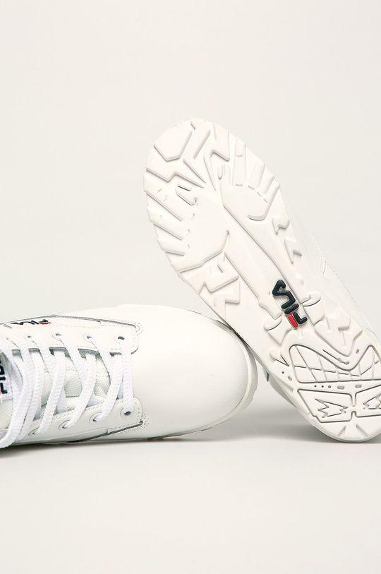 biały Fila - Buty skórzane Grunge II L Mid