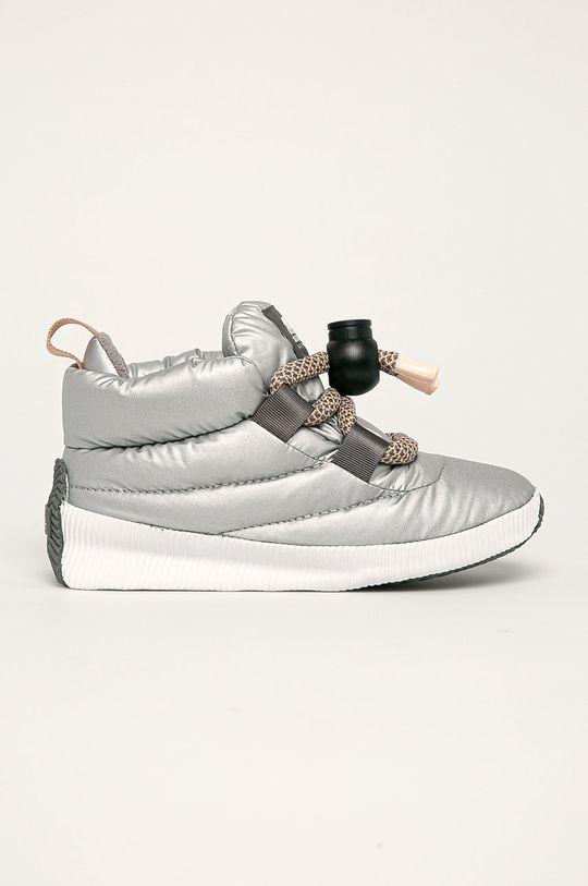 argintiu Sorel - cizme de iarna Out N About Puffy Lace De femei