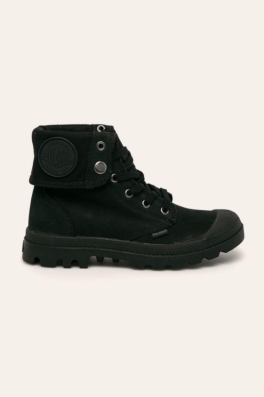 čierna Palladium - Členkové topánky Dámsky