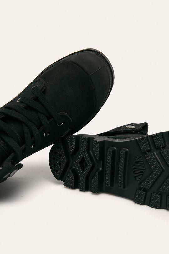 čierna Palladium - Členkové topánky