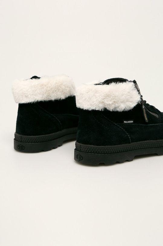 Palladium - Kožené kotníkové boty Svršek: Přírodní kůže Vnitřek: Textilní materiál Podrážka: Umělá hmota