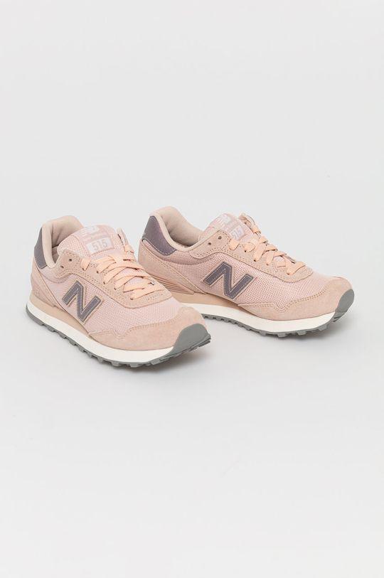 New Balance - Topánky WL515GBP ružová