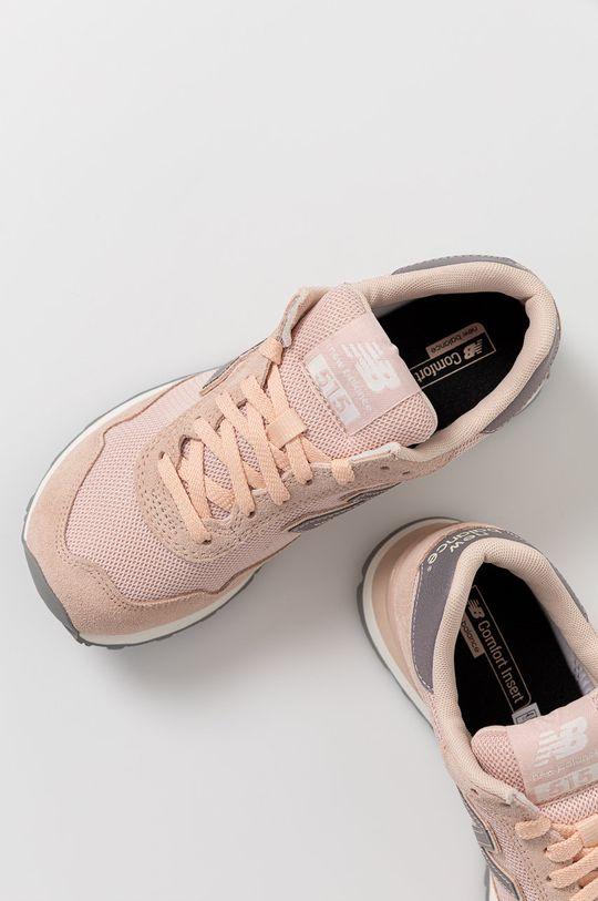 ružová New Balance - Topánky WL515GBP