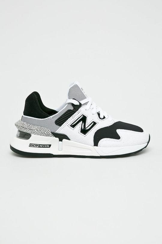 alb New Balance - Pantofi WS997JCF De femei