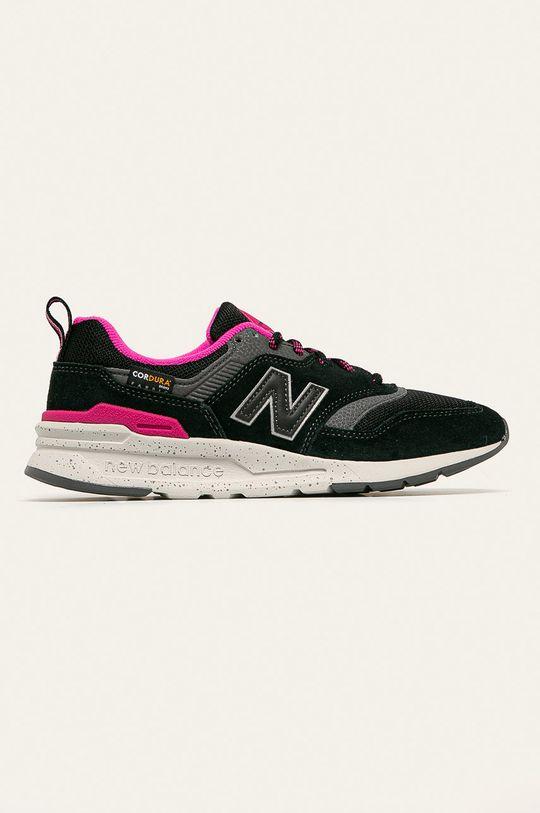 čierna New Balance - Topánky CW997HOB Dámsky