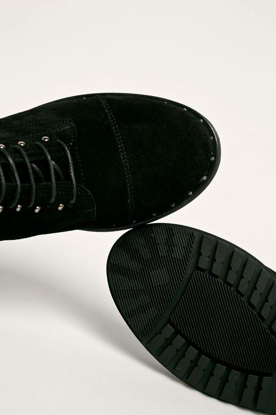 negru Badura - Cizme de piele