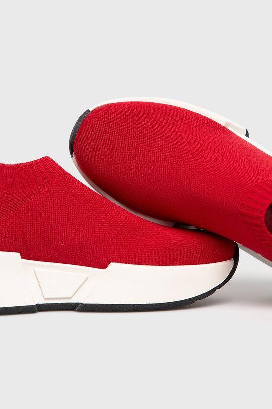 czerwony Dkny - Buty