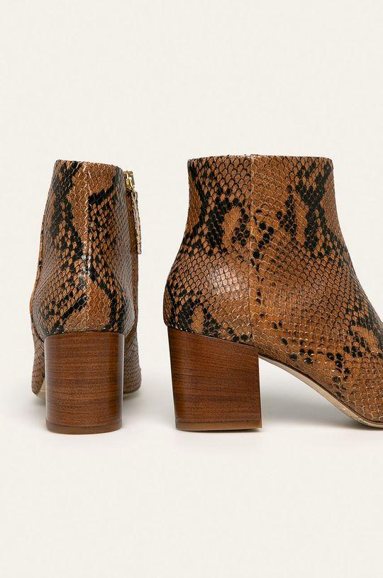Twinset - Kožené členkové topánky  Zvršok: Prírodná koža Vnútro: Prírodná koža Podrážka: Prírodná koža