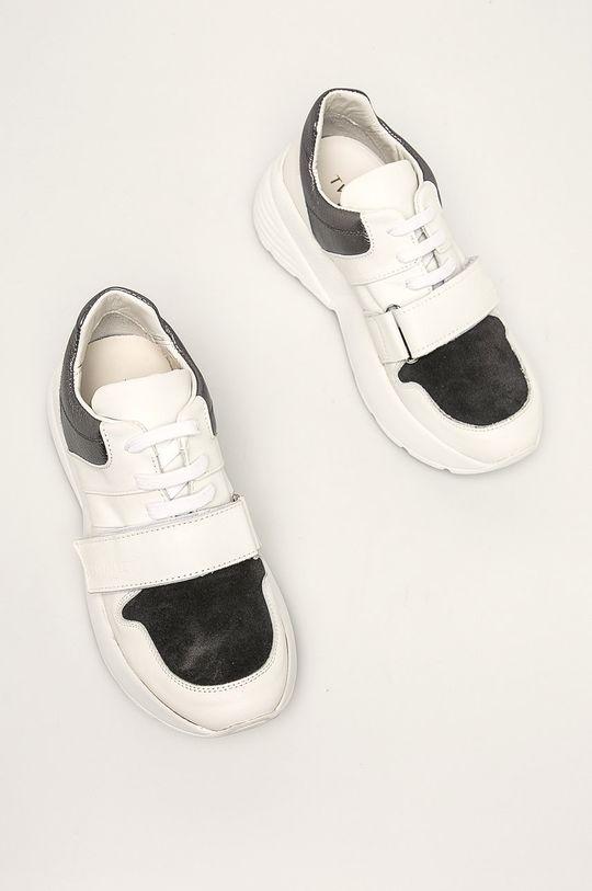 Twinset - Pantofi argintiu
