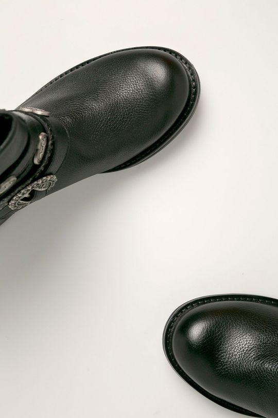 negru Twinset - Cizme de piele