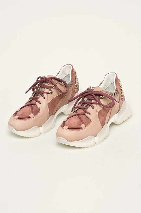 Twinset - Pantofi roz pastelat