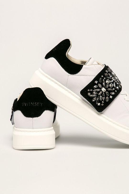 Twinset - Pantofi Gamba: Material textil, Piele naturala Interiorul: Piele naturala Talpa: Material sintetic