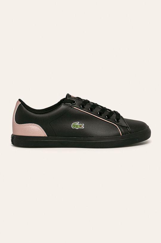 čierna Lacoste - Topánky Dámsky
