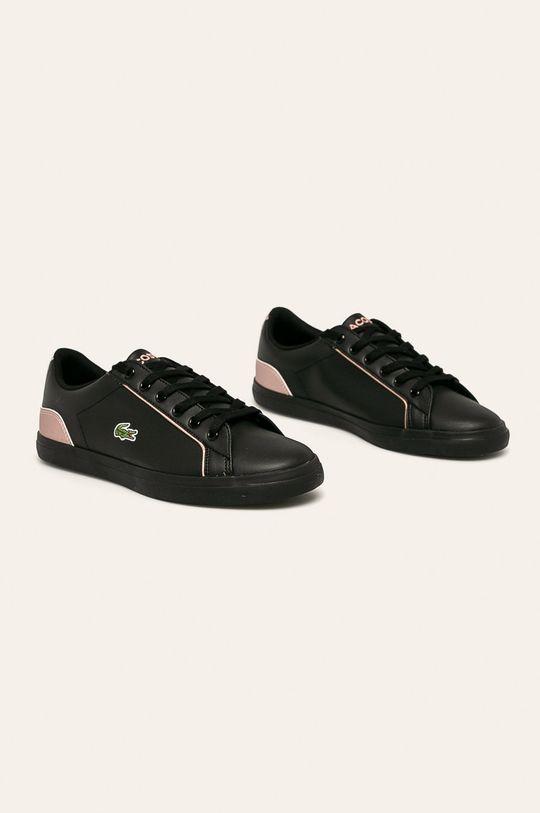 Lacoste - Topánky čierna