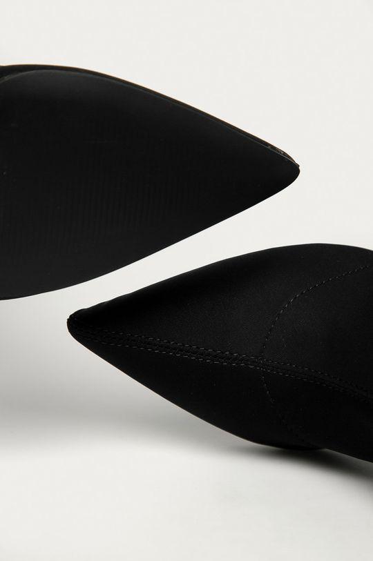 čierna Truffle Collection - Členkové topánky